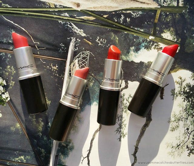 Four MAC Lipsticks For Olive Skin Tones