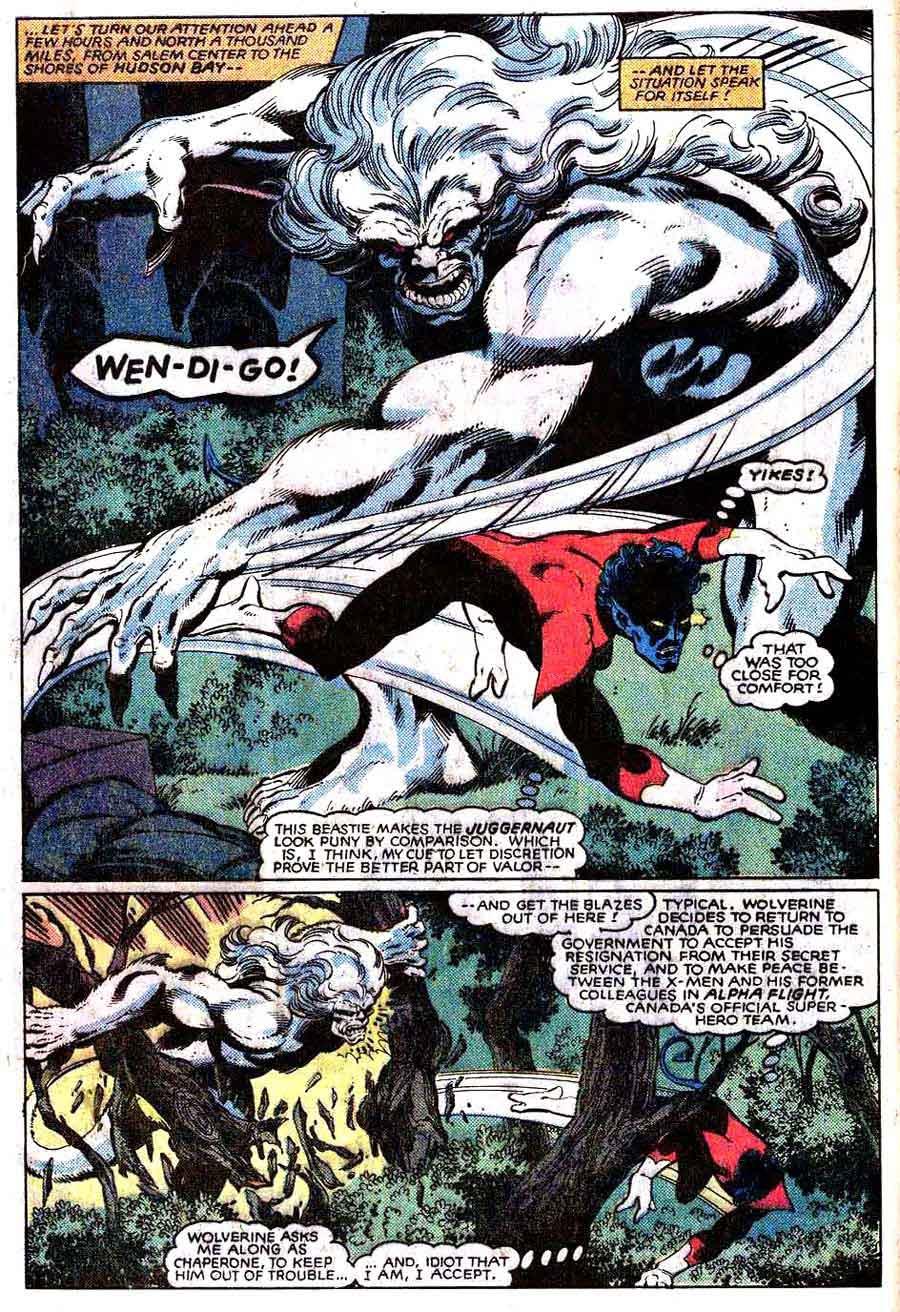 X-men v1 #140 marvel comic book page art by John Byrne