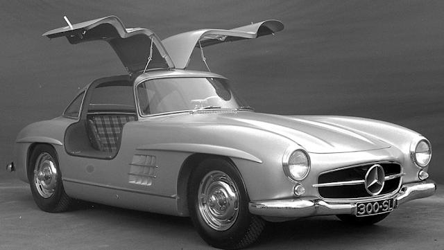 1957 - 1962 Mercedes 300SL Gullwing W194 Exterior