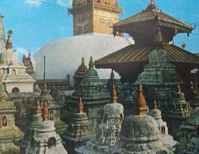 Foto Kuil Hanuman di Istana Tua Kathmandu