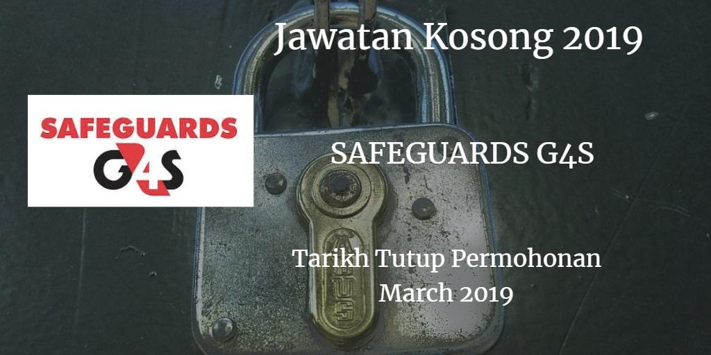 Jawatan Kosong SAFEGUARDS G4S March 2019