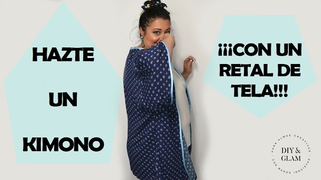 Haz un Kimono con un retal de tela