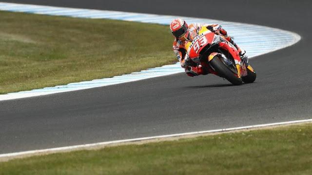 Canda Marquez Soal Nol Poin di MotoGP Australia