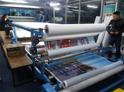 Image result for rotary heat transfer machine