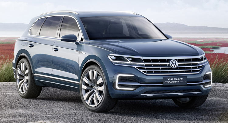 Vw T Prime Concept Gte Previews New Full Size Suv