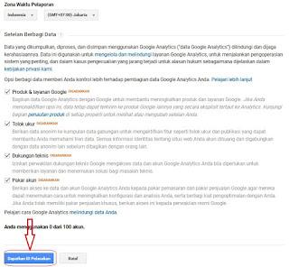 Cara Daftar dan Pasang Google Analytics Pada Blog