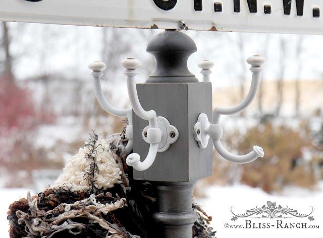 Matthew Mead Metallic Paint, Coat Tree Update Bliss-Ranch.com