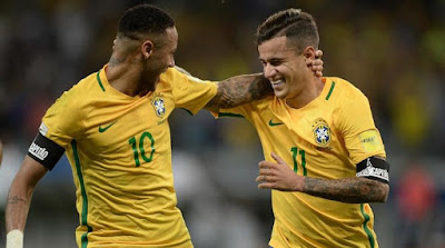 Live Streaming Brasil vs Meksiko