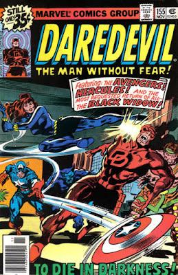 Daredevil #155, the Black Widow