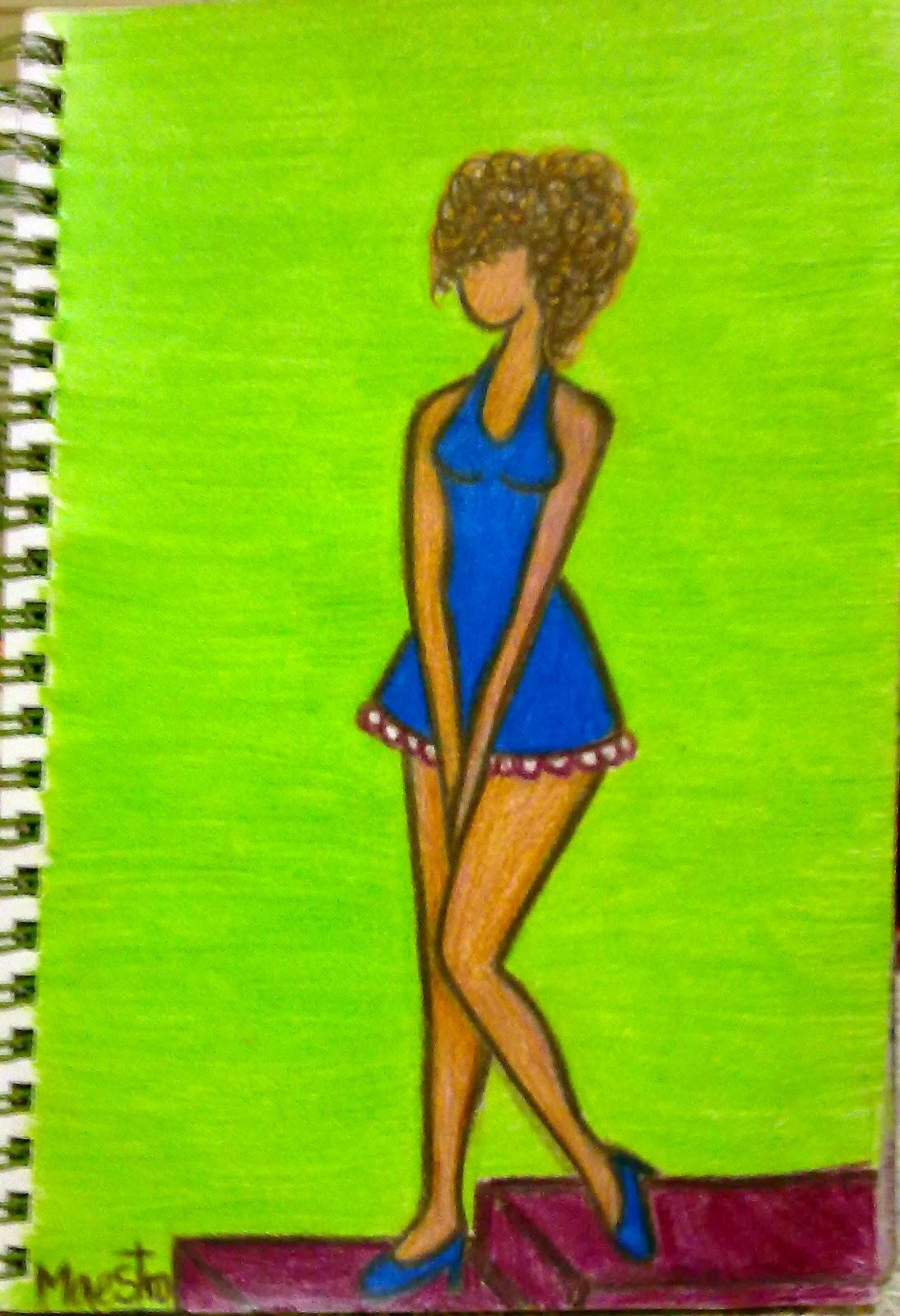 El diablo vestido de azul cancion