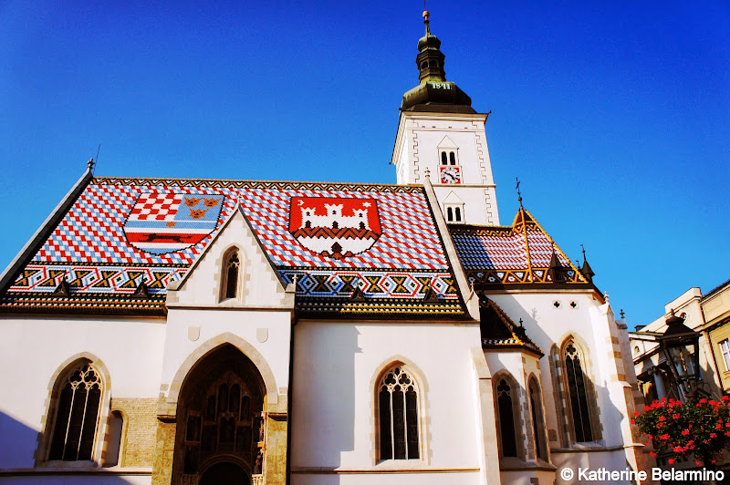 Church of St. Mark Zagreb Croatia