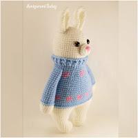 http://amigurumislandia.blogspot.com.ar/2019/03/amigurumi-conejo-con-pulover-amigurumi-today.html