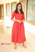 Actress Lavanya Tripathi Latest Pos in Red Dress at Radha Movie Success Meet .COM 0047.JPG