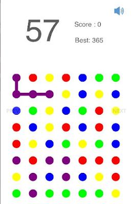 Connected Dots - iOS Universal Game is puzzle game.