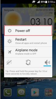 Cara Boot Android Ke Mode Aman dan Menonaktifkan Mode Aman