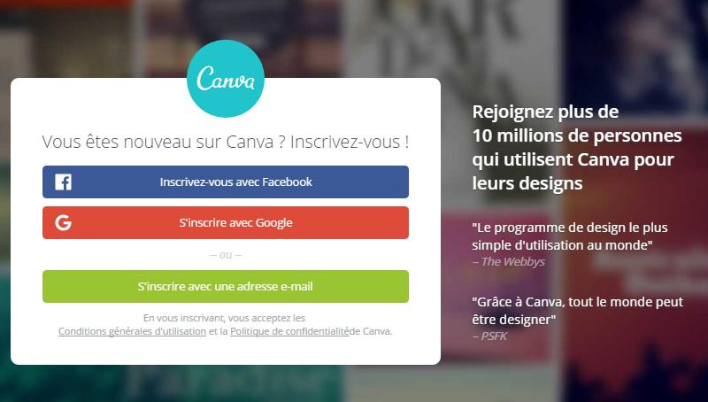 Créer des images pour vos articles avec Canva