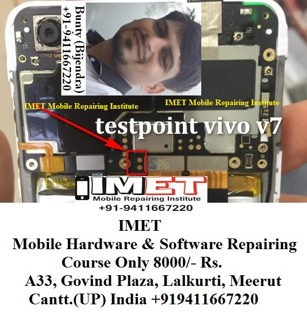 Vivo V7 EDL Mode PINOUT [Vivo V7 Test Points] - IMET Mobile