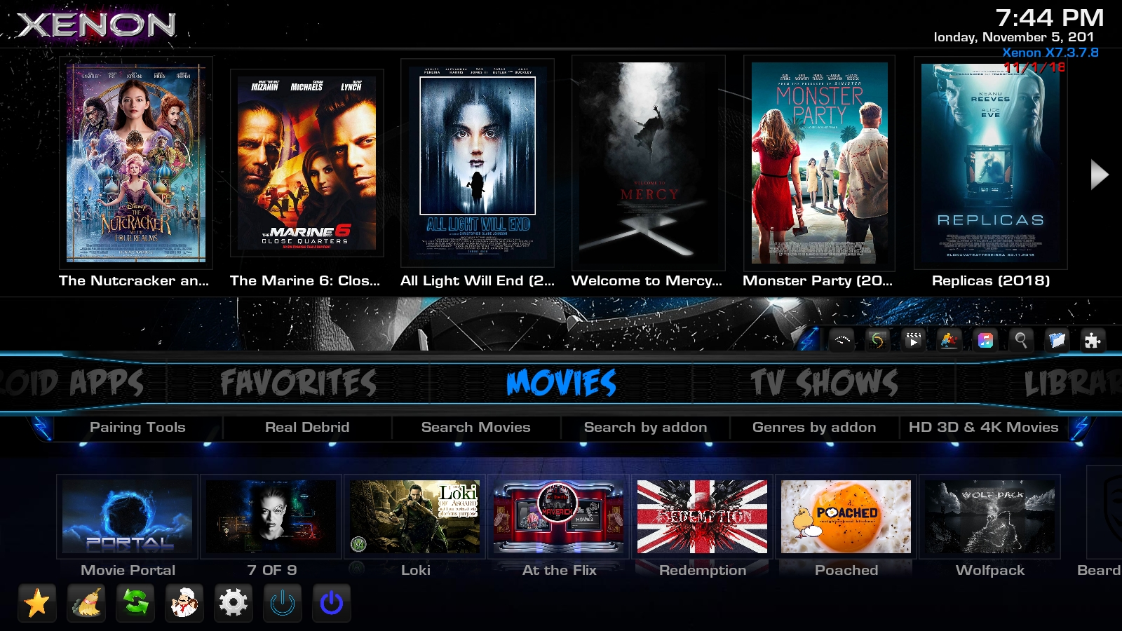 DIGGZ XENON BUILD FOR KODI 17 6 FROM THE CHEF DIGGZ WIZARD