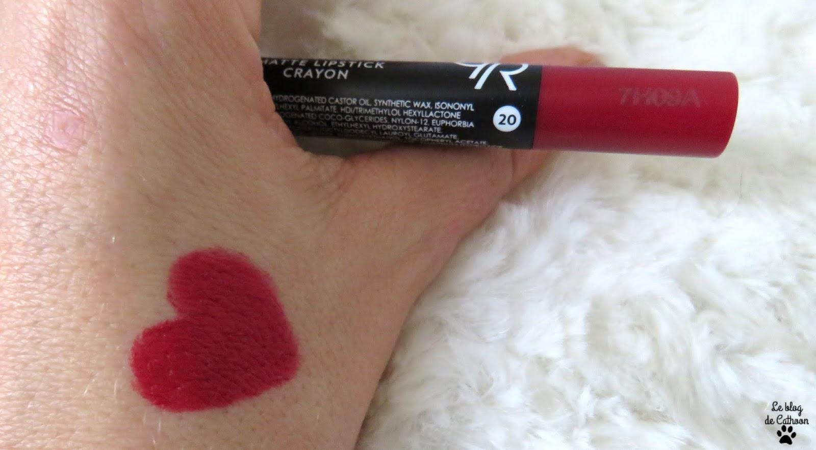 Semi Matte Lipstick - Golden Rose