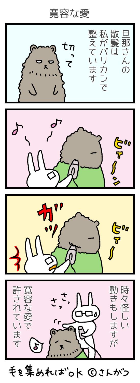 「寛容な愛」さんがつ家の徒然漫画