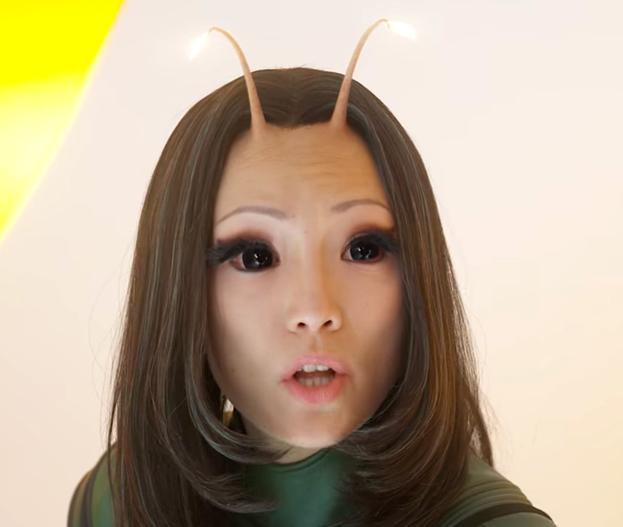Mantis (Pom Klementieff) dans Les Gardiens de la galaxie