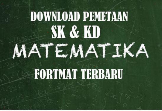 Download Aplikasi Pemetaan SK & KD Matematika Versi 2017 Terupdate