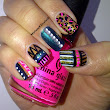 Today's Nails - Tribal Mix