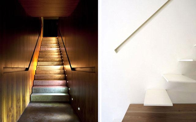 Marzua pasamanos modernos para escaleras de dise o - Pasamanos escalera interior ...
