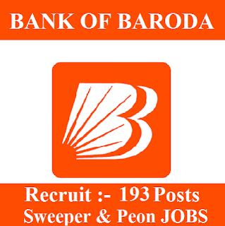10th, Bank, Bank Of Baroda, BOB, freejobalert, Latest Jobs, Peon, Sarkari Naukri, Sweeper, TN, Tamil Nadu,