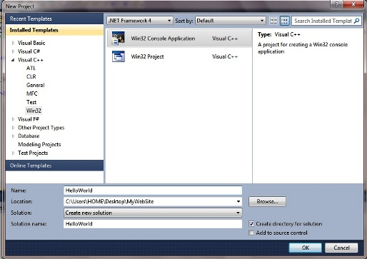 Installing & Configuring OpenCV 2 1 with Visual Studio 2010