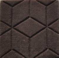 hand-carved rug hand tufted