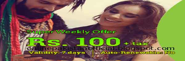 Zong Super Weekly 2GB Internet Offer