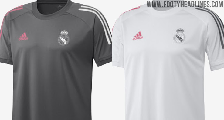 Grey Five Real Madrid 20 21 Training Kits Collection Leaked Footy Headlines