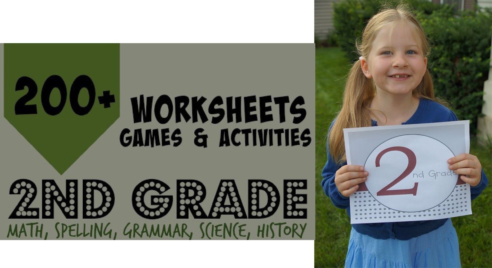 Free 2nd Grade Worksheets Amp Games