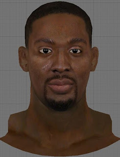 NBA 2K13 Andray Blatche Cyberface Patch