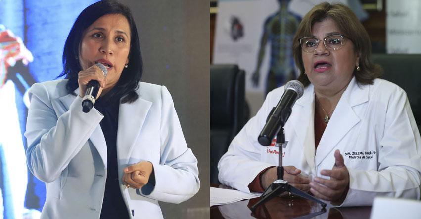 Convocan a ministras de Educación y Salud para mañana lunes al Congreso de la República