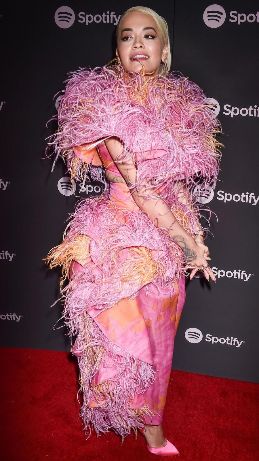 Rita Ora - Spotify Best New Artist 2019 event in LA - 02/07/2019