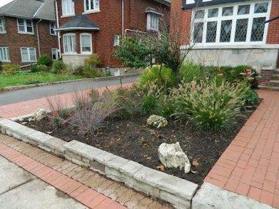 Midtown Toronto Fall Garden Cleanup after by Paul Jung Gardening Services