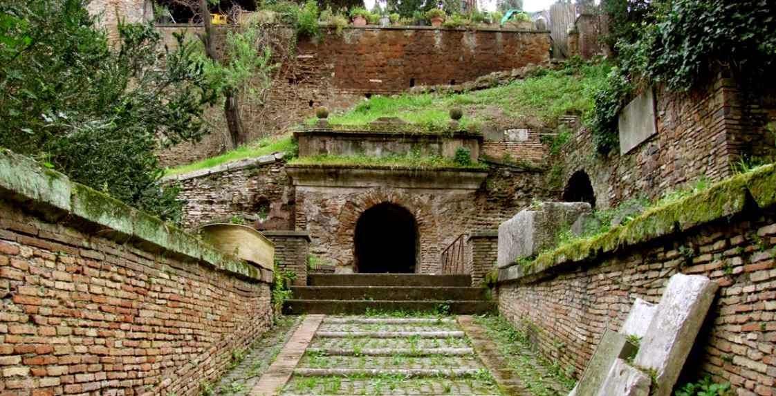 Tumba romana, muerte y Derecho romano
