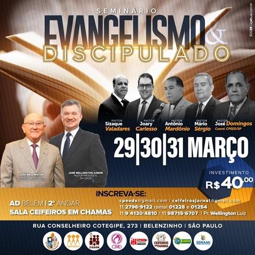 Seminário de Evangelismo e Discipulado