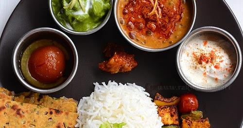 Indian lunch menu ideas raks kitchen forumfinder Images