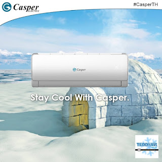 Điều hòa Casper Gas R410A TIẾT KIỆM ĐIỆN