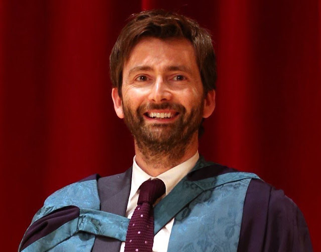 David Tennant receiving his honorary degree from the Royal Conservatoire Of Scotland - 5th July 2016