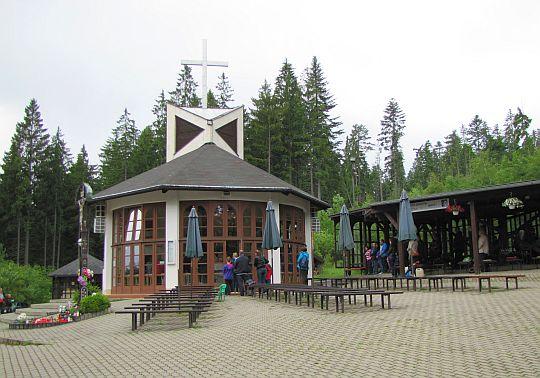 Kaplica Matki Boskiej Królowej Pokoju.