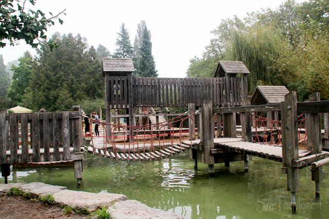 Spielplatz auf der Insel Mainau im Bodensee