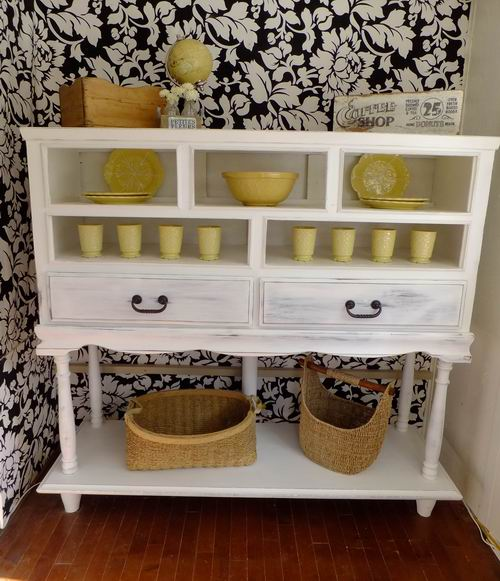How To Make A Dresser 2ft Taller Cottage Country Cabinet