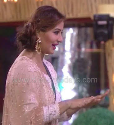 Shilpa Shinde in Anarkali
