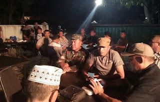 Kapolres Bima Gelar Silahturahmi dengan TNI