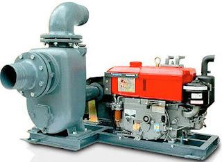 Unit Mesin Diesel Pompa Air Irigasi Siap Pakai