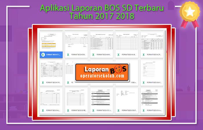 Aplikasi Laporan BOS SD Terbaru Tahun 2017 2018